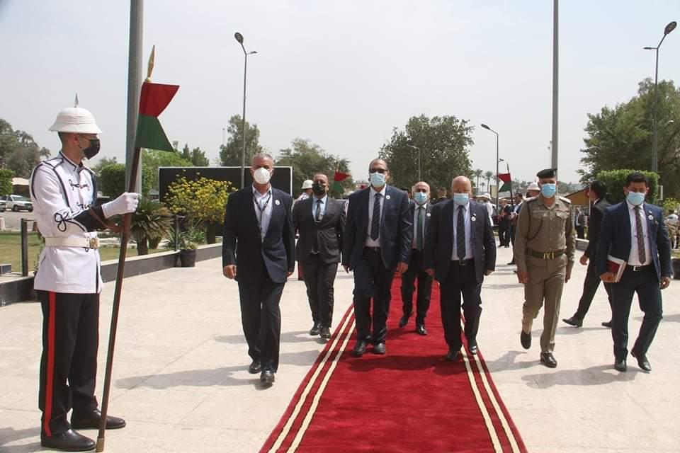 بمشاركة 11 دولة  فتتاح معرض الامن والدفاع والصناعات الحربية العراقية بدورته التاسعة .