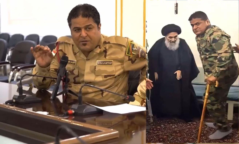 #تفاصيل لأول مرة | 🇮🇶 اسمع ماذا قال السيد #السيستاني عن القوات الأمنية العراقية وماذا اعطى احد جرحى معارك التحرير